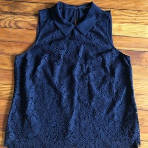 NEVER WORN Banana Republic Lace Blouse